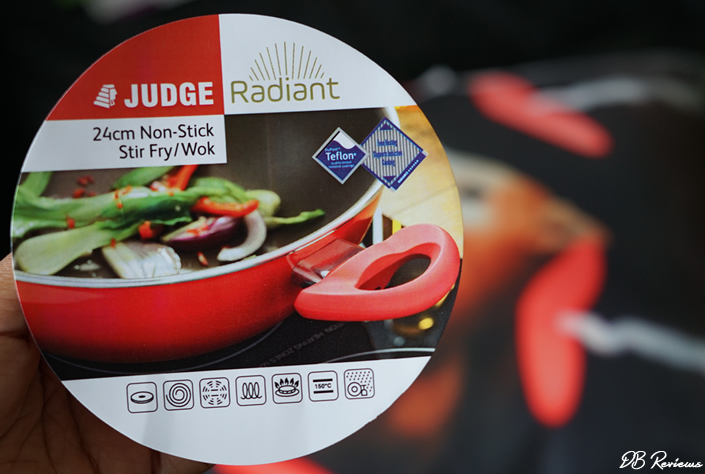Radiant Cookware from Judge Kitchenware - Non stick wok review