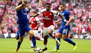 Hasil Arsenal vs  Chelsea Community Shield 2017