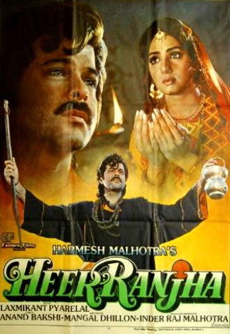 Heer Ranjha 1992 Hindi 480p HDRip 450mb