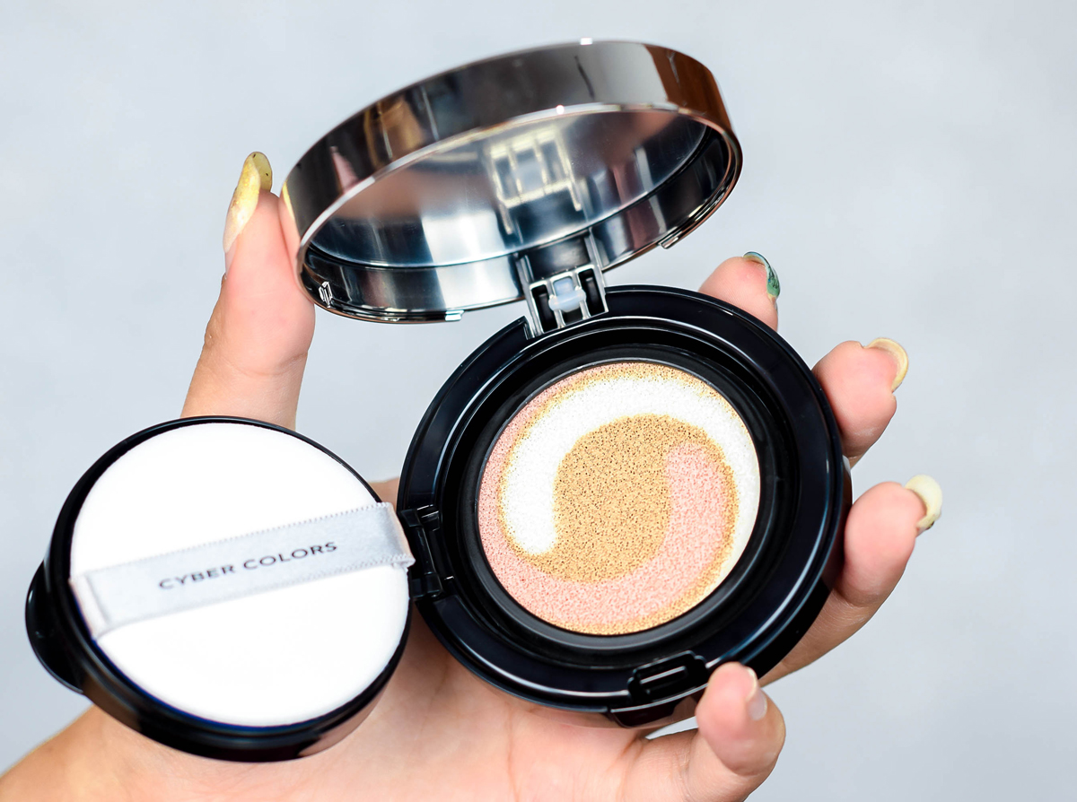 pen my blog cyber colors rose water toning cushion compact spf 50
