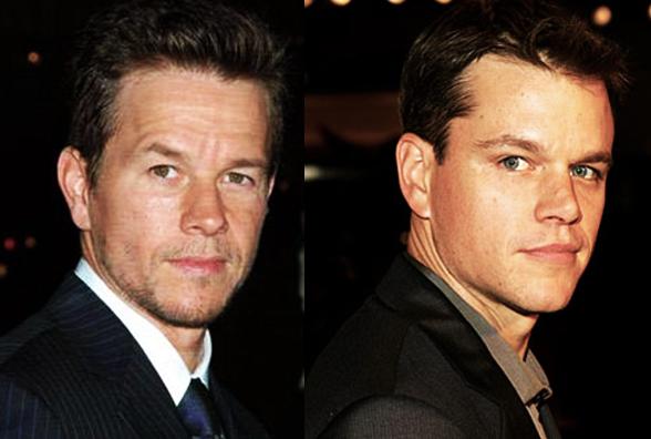 Mark Wahlberg e Matt Damon
