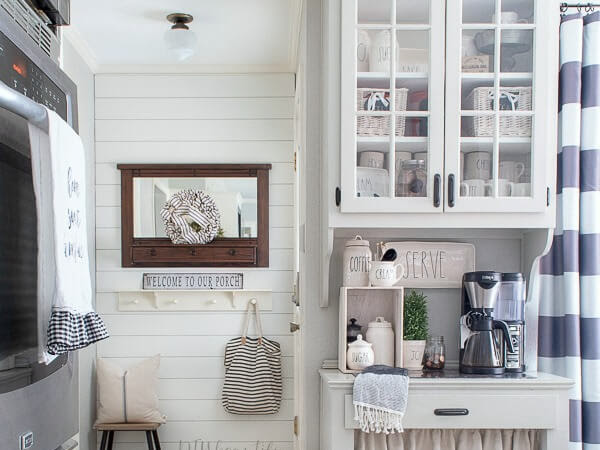 Simple Weekend Shiplap Wall