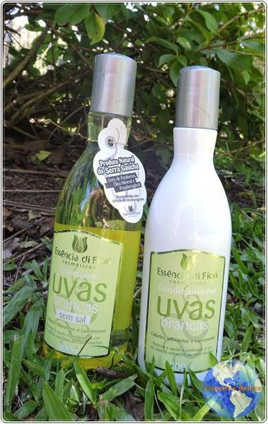 Shampoo e Condicionador Uvas Brancas