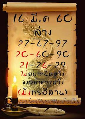 เลขเด่นล่าง  27  67  97  20  60  90  21  26  29  เลขเด่นบน  701  709  729  801  809  829  901  909  929