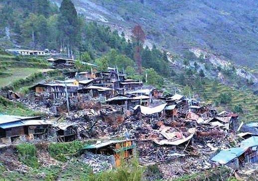 Due to the high risk of earthquake, Rasuwa 11 settlements