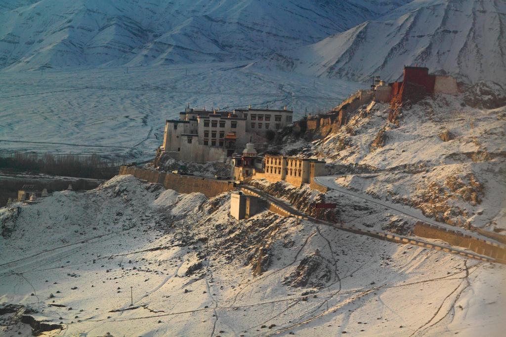 Leh Palace in Winter