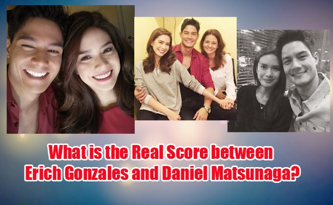 What is the Real Score between Erich Gonzales and Daniel Matsunaga?