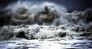 Valuri gigantice cărora nici o nava nu le poate rezista