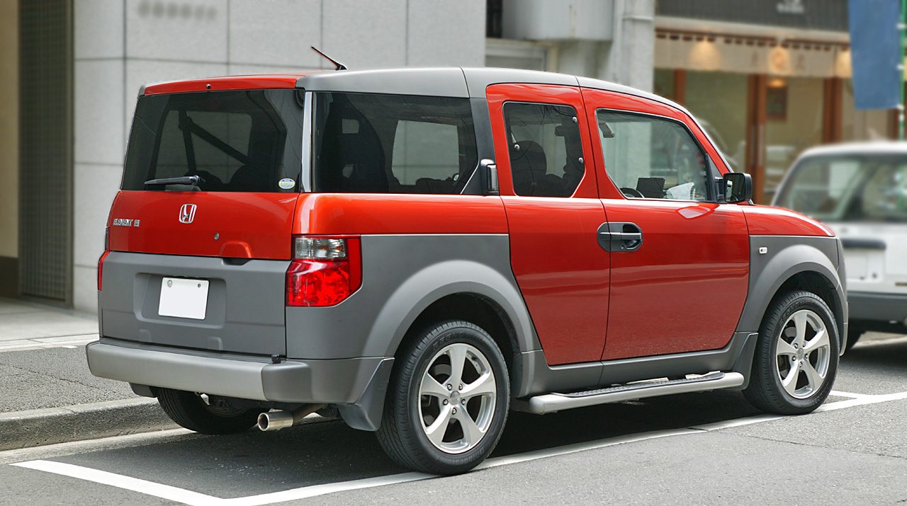 Smart Cars For Smart Peopls Honda Element 2012