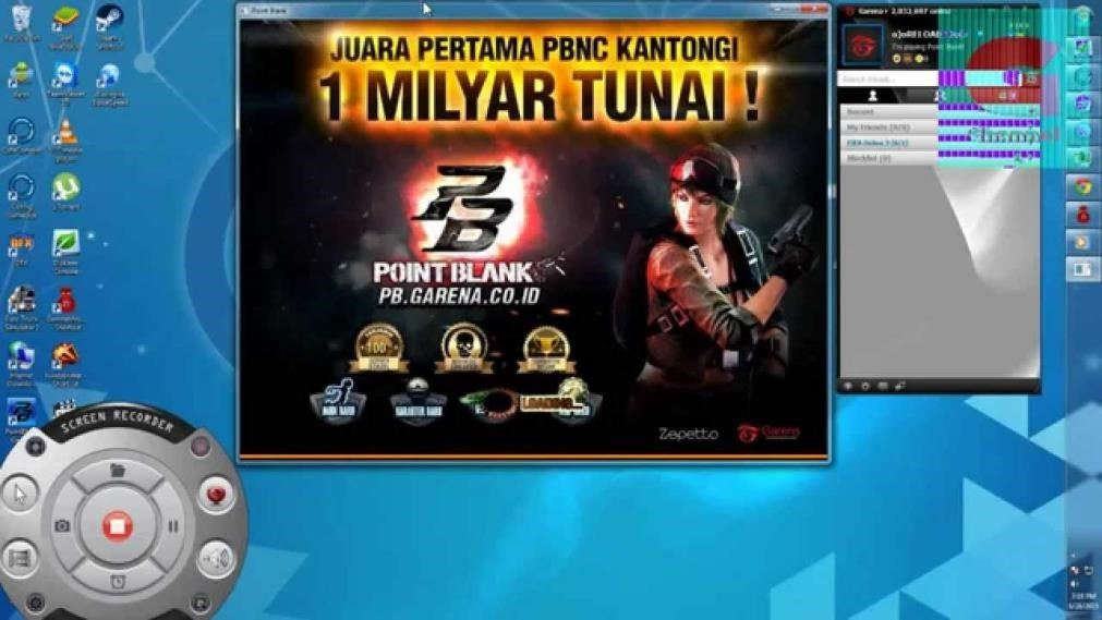 point blank garena indonesia login