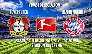 Prediksi Bayer Leverkusen vs Bayern Munchen 13 Januari 2018