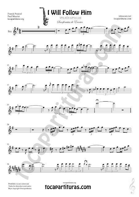 Saxofón Alto y Sax Barítono Partitura Sheet Music for Alto and Baritone Saxophone Music Scores para Saxofonistas de Eventos Saxophonists Musician