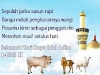 Kumpulan PANTUN ucapan hari raya Idul Adha 1438H yang Lucu dan Unik
