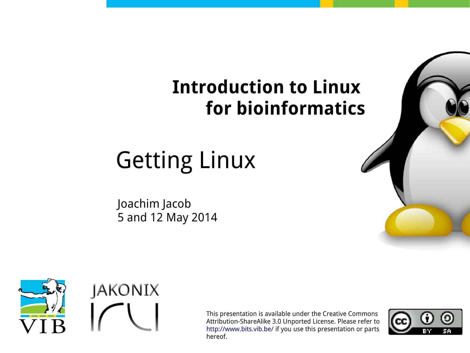 slideshow] Introduction to Linux for bioinformatics - Linux