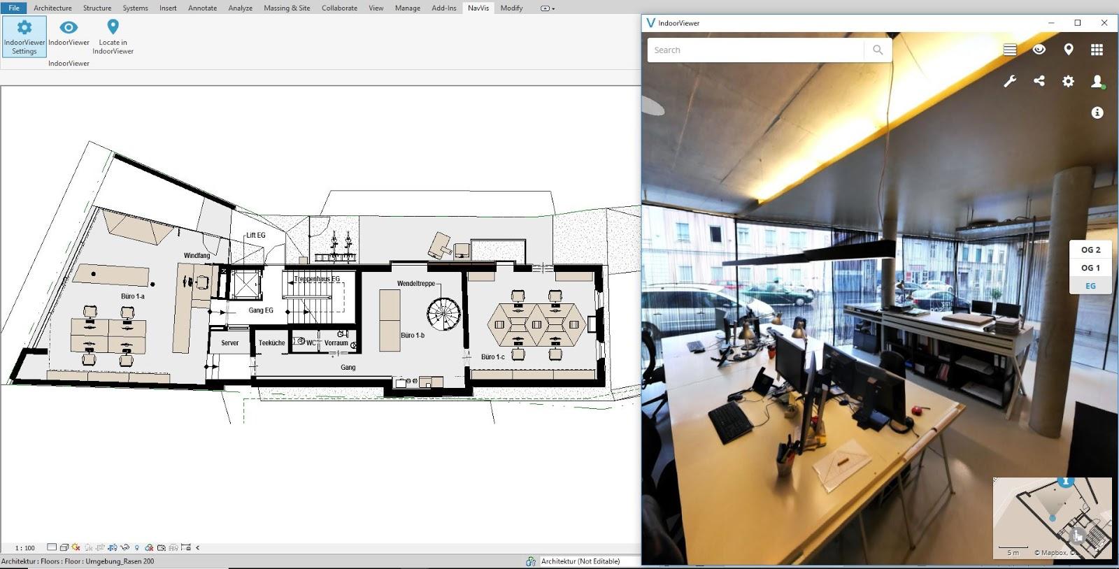 Revit Add-Ons: NavVis IndoorViewer Add-In for Autodesk® Revit®