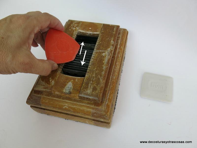 como afilar las tizas o jaboncillos de sastrería