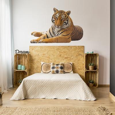 vinilo decorativo tigre 2012