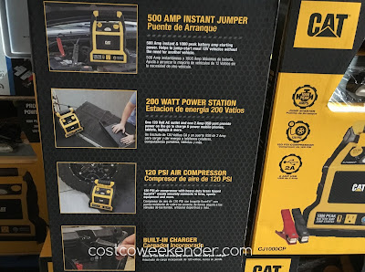Costco 141571 - CAT CJ1000CP Professioinal Power Station with Jump Starter and Compressor - great for any vehicle's trunk