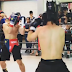 Pacquiao's Son knocks down opponent on actual boxing match