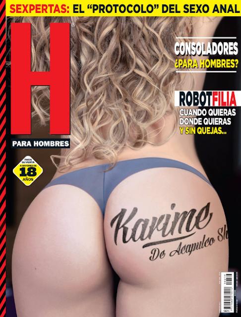 Fotos Karime de Acapulco shore Revista H Febrero 2017