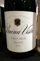 Buena Vista Pinot Noir 2011 - Carneros, California, USA (90 pts)