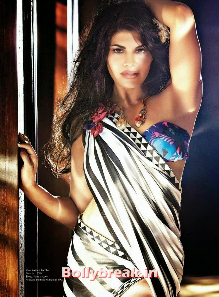 , Jacqueline Fernandez Hot Filmfare Magazine May 2014 Scans