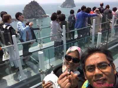 Oryukdo island Skywalk Tempat menarik di Busan Korea Interesting Place