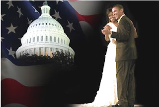 Inaugural Ball, Barack Michelle Obama card