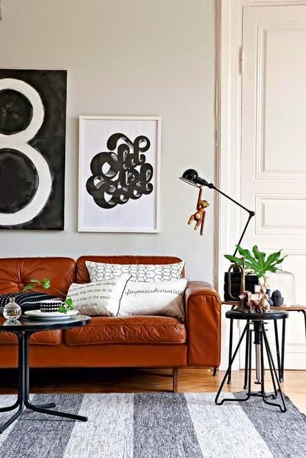 25 ideas de decoraci n de salas que poner al lado del sofa for Muebles estilo banak