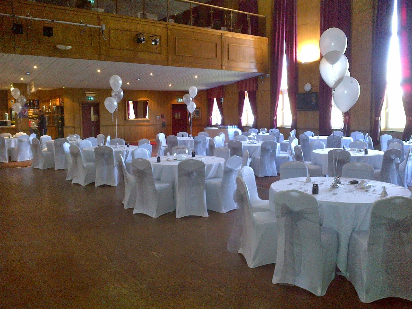 Chair Cover Hire Northumberland Cheap Tennis Balls For Chairs Exquisite Events And White Black
