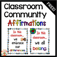 https://www.teacherspayteachers.com/Product/Affirmation-Posters-Classroom-Community-kindnessnation-weholdthesetruths-2877673