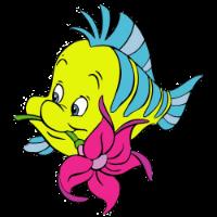Linguado - Ariel - A Pequena Sereia
