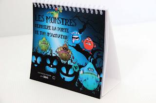 livre objet personnalisé pour vaincre la peur des monstres