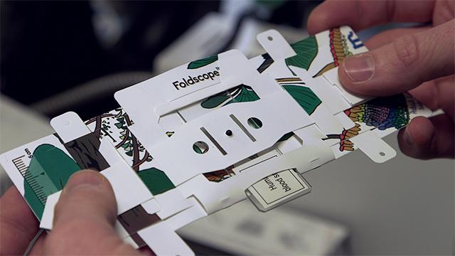 Foldscope, Mikroskop Dari Kertas Origami