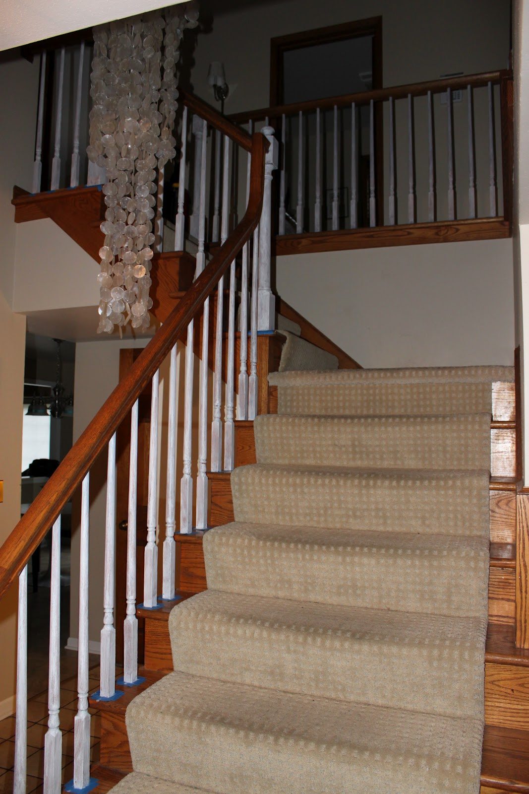 Before And After Bathroom Updates From Rate My Space: My Best Friend Craig: BEFORE AND AFTER: STAIRCASE