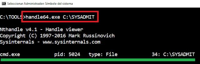 Windows: Cómo saber que proceso tiene abierto un archivo