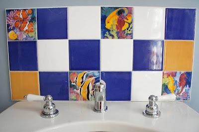 Prairie Home Therapy The Bathroom Curtains