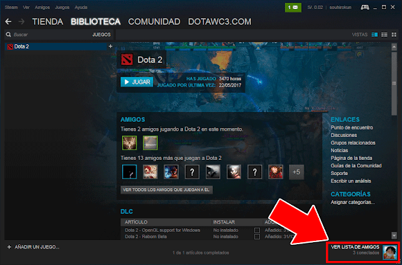 Como intercambiar items en DOTA 2
