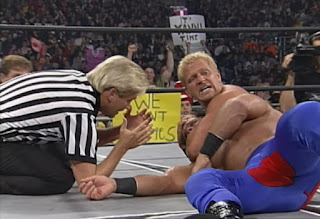 WCW Mayhem 1999 - Jeff Jarrett battled Chris Benoit