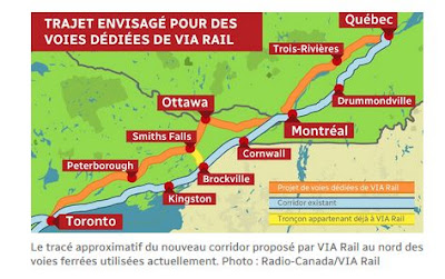 Map Of Canada Via Rail.Judgement Day For Via Rail S 4 Billion Debacle Rabble Ca