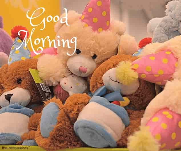 good morning my teddy bear images