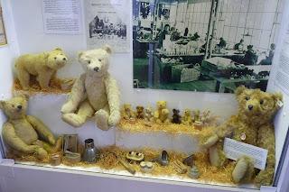 Ositos de peluche Steiff del Spielzeugmuseum.
