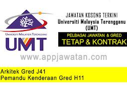 Jawatan Kosong di Universiti Malaysia Terengganu (UMT) - 12 November 2018