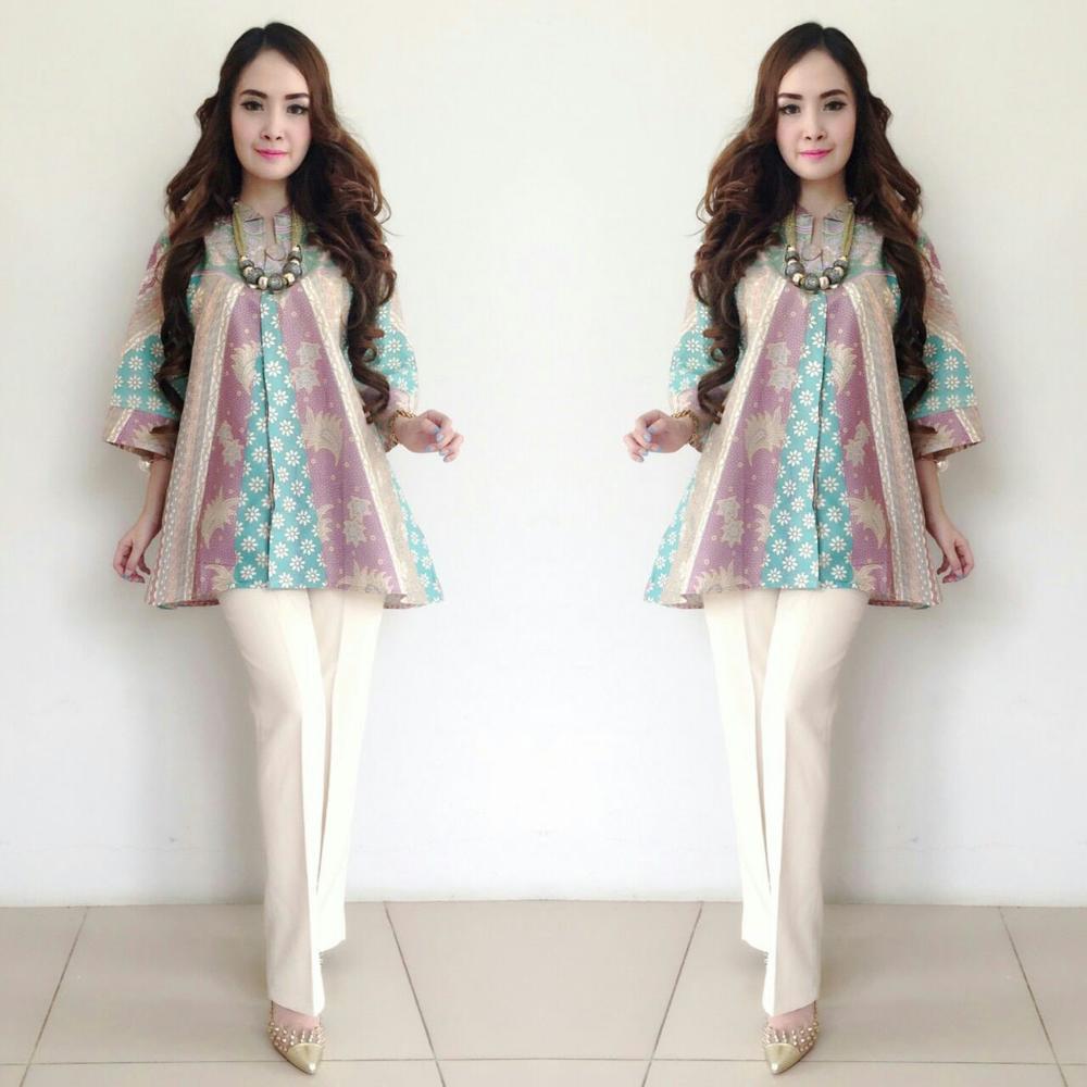 Model Baju Batik Wanita Modern Terbaru 2017: Model Baju ...