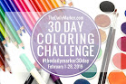 30 day colouring challenge