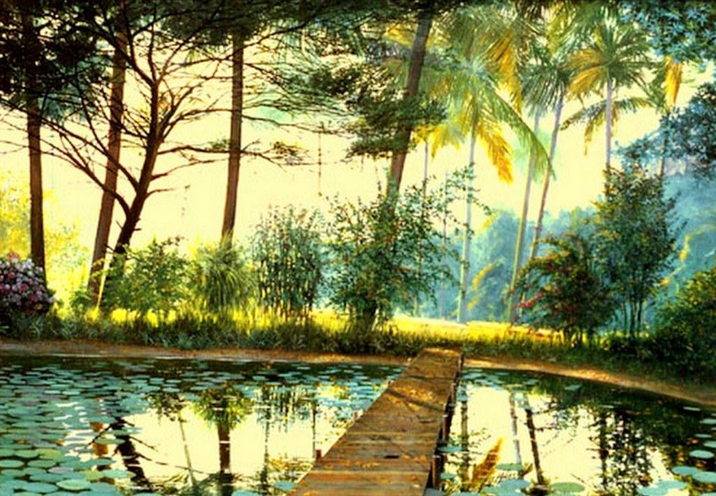 Arte Pinturas Óleo: Pintura Paisajes óleo