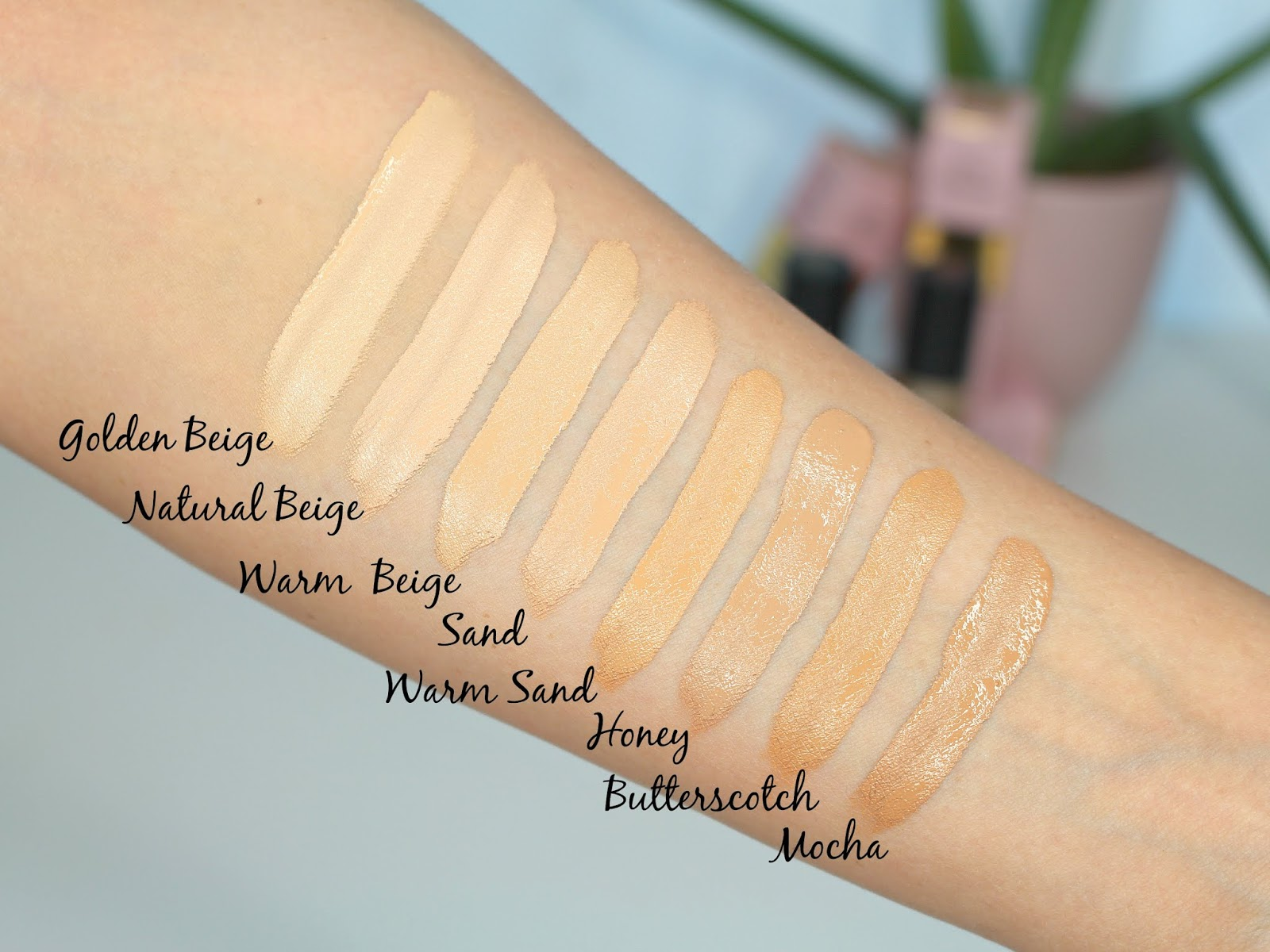 too faced born this way multi use sculpting concealer swatches
