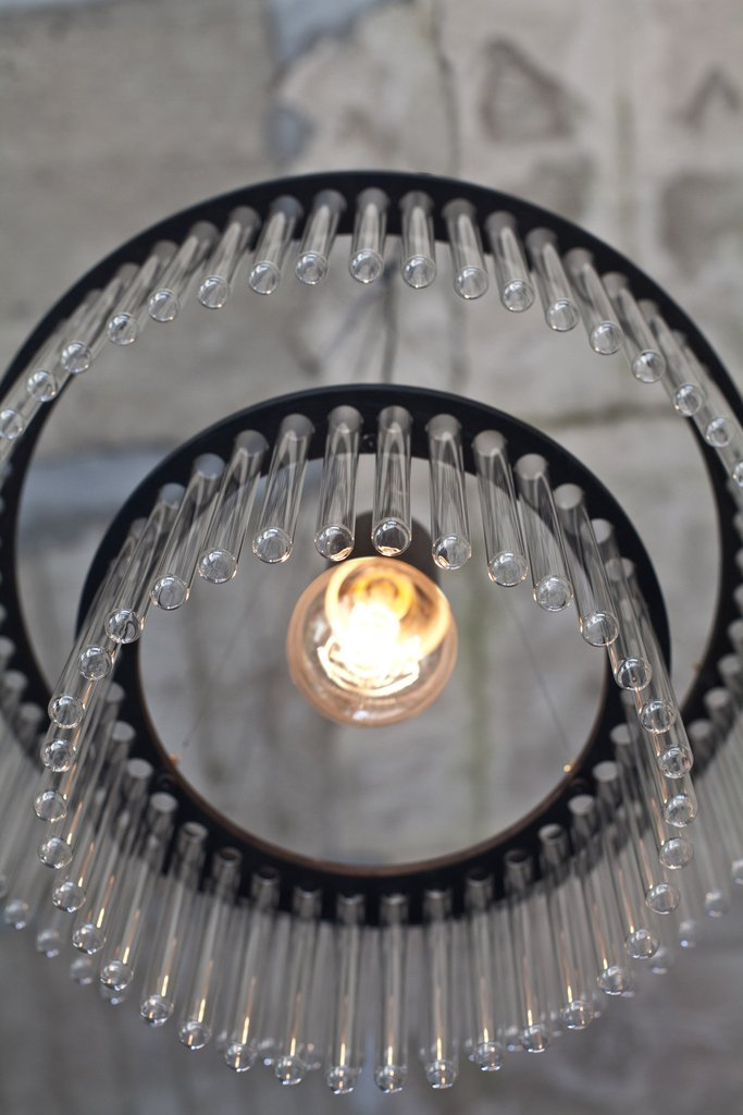 Maria S.C.Test Tube Chandelier