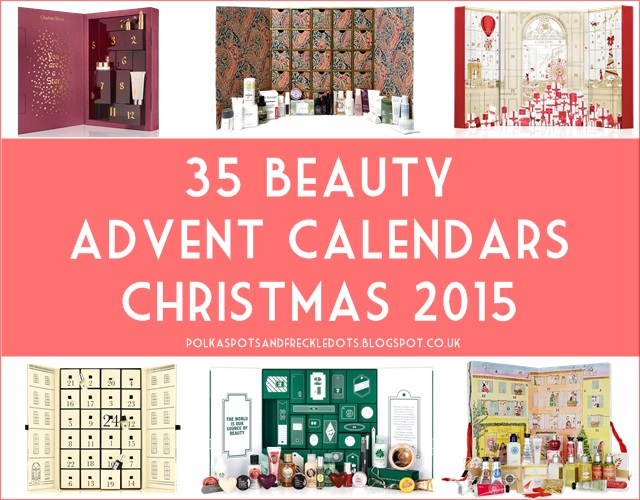 beauty advent calendar round up christmas 2015 polka. Black Bedroom Furniture Sets. Home Design Ideas
