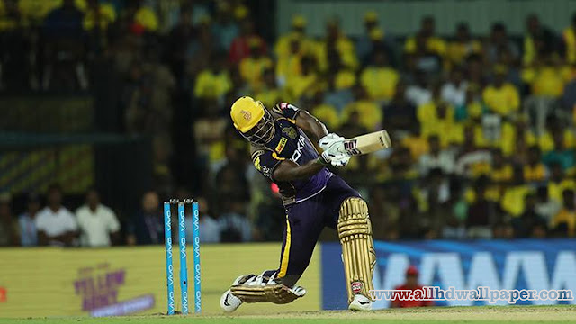 Andre Russell New Batting Photos